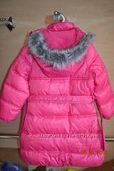 Куртка пальто Cool Club полностью на флисе рост 110 см