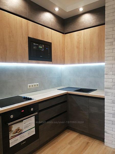 Дизайн-проект, чертежи, деталировка кухни