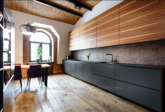 Дизайн-проект, чертежи, деталировка мебели.