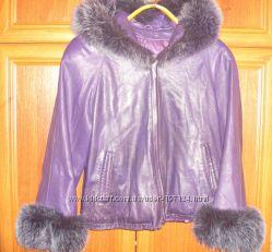 куртка кожа GCV Италия