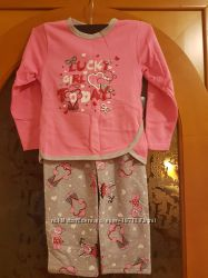 Пижамка для девочки р. 116 новая на флисике Украина.