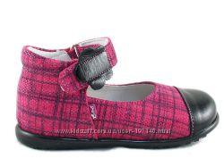 Emel польские кожаные туфельки для маленьких принцесс