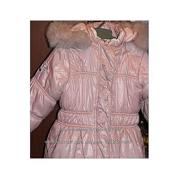 Срочно продам шикарный зимний костюм ТМ PILGUNI р. 110