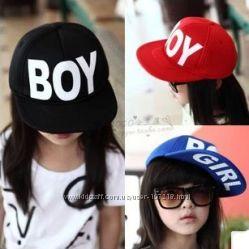 Сногсшибательные кепки, бейсболки Boy Girl