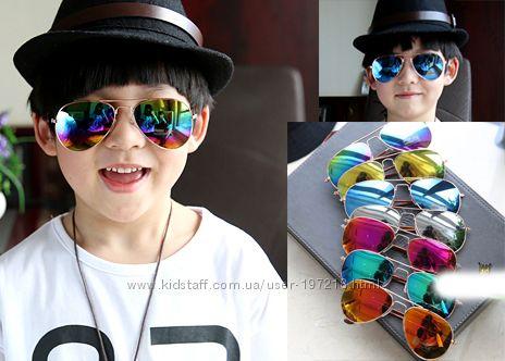 детские модные очки, капли