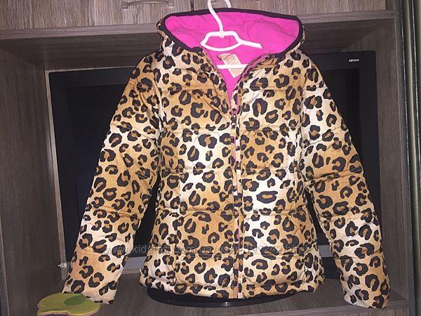 Куртка демизима леопард