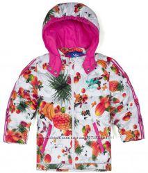 Крутая  куртка-пуховик Adidas Flower