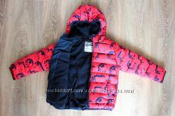 Яркая, утепленная куртка NEXT на мальчика 5-6 лет, 116 рост