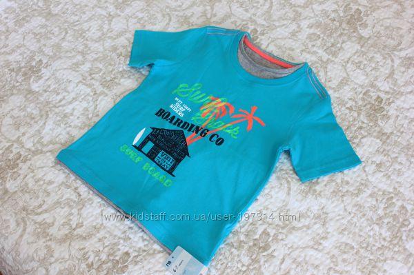 Яркая футболка на мальчика 6-7 лет