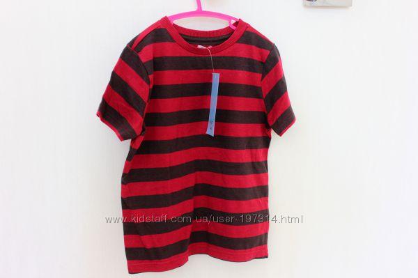 Яркая футболка в полоску на 5-6 лет, 6-7 лет