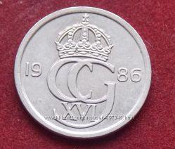 Монета Швеции 10 оре
