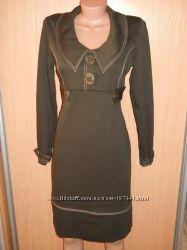 Офисное платье для стильной леди. 48 размер.