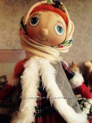 Кукла Нюра. Ручная работа