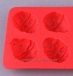 Формочки для маленьких шоколадных яиц. Силикон