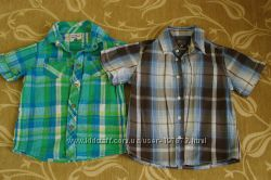 Рубашки Topolino, Palomino с коротким рукавом размер 98-104
