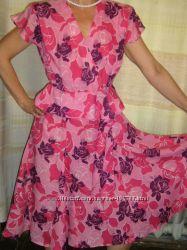Летнее легкое платье 48-50 размера