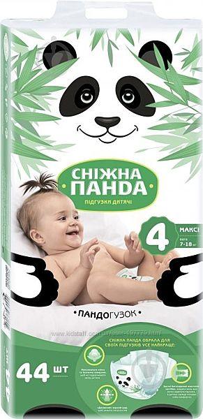 Підгузки дитячі Сніжна Панда Mаксі 7-18 кг 44 шт.