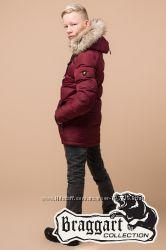 Зимняя куртка детская, подростковая Braggart. 4 цвета. Хит 2019