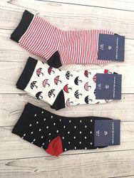 Набор 12 шт. Цветные женские носки Tommy Hilfiger.