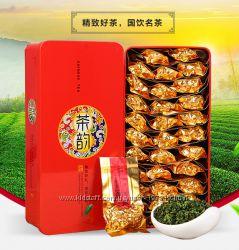 Китайский настоящий чай из Китая 0, 250-0, 500 гр в упаковке. Железная банк