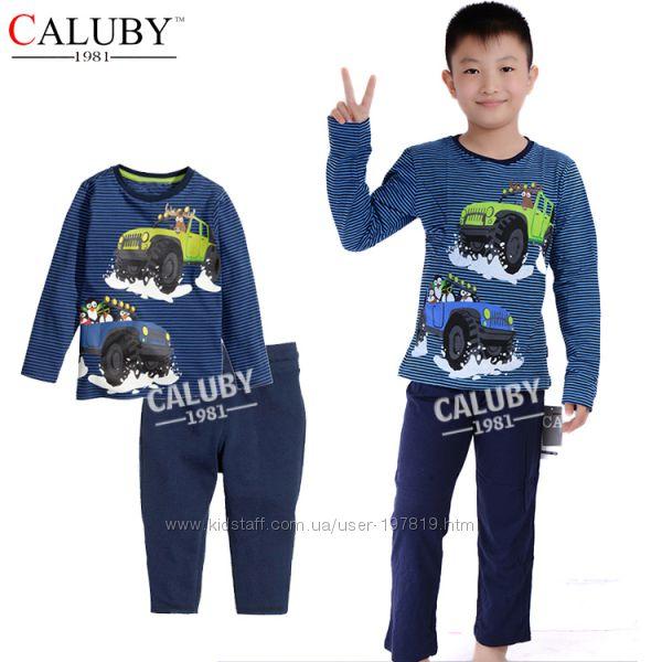 Подростковые пижамы CALUBY девочкам и мальчикам 8Т-12Т