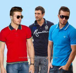 Модные мужские футболки, поло - большой выбор в наличии. Часть 1.