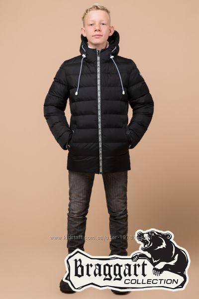 Зимняя куртка детская, подростковая Braggart Германия. 4 цвета. Хит 2019