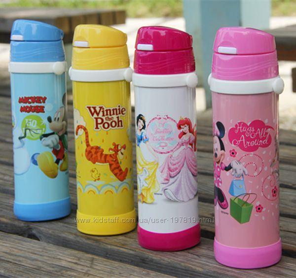 Термоса - бутылочки Disney