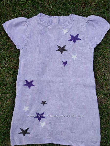 Тоненькое платьице со звездочками 3т от CRAZY8