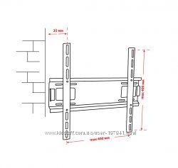Крепёж настенный для LCD 30-53 КВАДО К-50