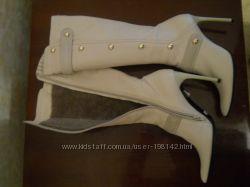 Итальянские зимние сапоги, 38 размер.
