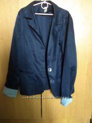 Пиджак синий школьный
