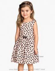 Платья летние H&M для девочки на 4-6 лет. Новые