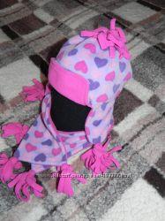 фирменные шапки для маленьких принцесс