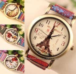 Наручные часы Эйфелевая башня, 3 разные модели.