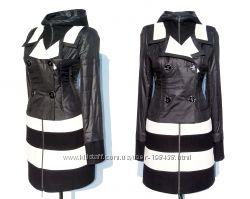 Дешево. ITALY STYLE Шикарный плащ пальто, эффектный дизайн. р 42