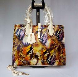 2e4f7fab5814 BALINA. Элитная сумка, принт. Натуральная Кожа. Новая, 395 грн ...