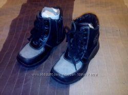 Продам зимние кожаные ботинки на цигейке