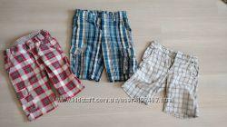 Летние шорты Benetton, Sisley, H&М для мальчика 6-9 лет