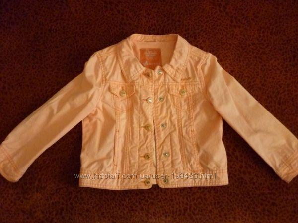 Джинсовая куртка пиджак C&A Palomino