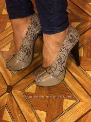 Шикарные туфли. Кожаные. 39