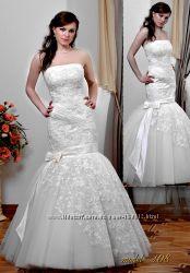 Оригинальное свадебное платье фабричное Jaklin