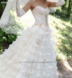 Свадебное платье Италия Бу