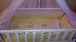 Прекрасный комплект в кроватку Asik