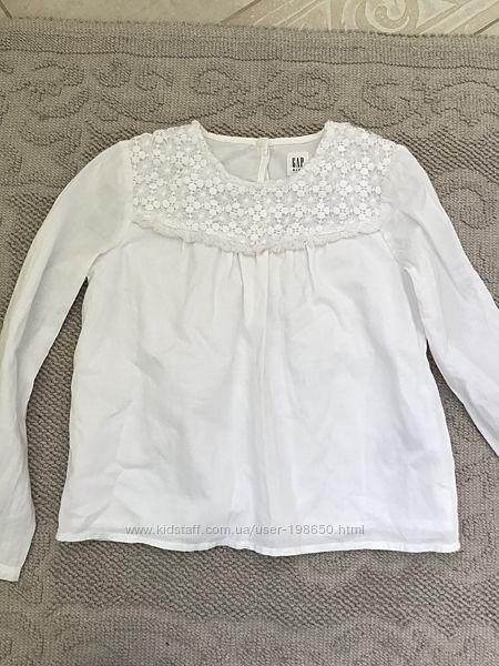 блуза Gap 6-7 лет 114-132р