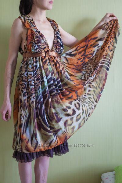Нарядное летнее платье для беременной.