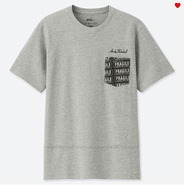 Uniqlo футболка с карманом