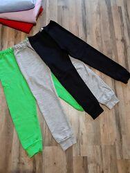 Штани дитячі з невеликим начісуванням 100 бавовна Детские брюки с начесом