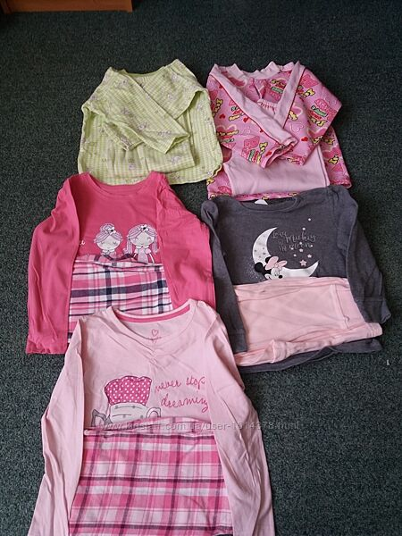 Пижамы на 2-4 года