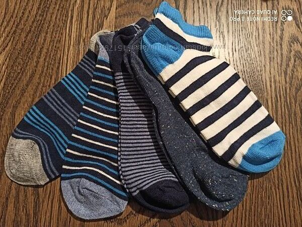 Набор носочков 5шт George 27-30 37-40 носки